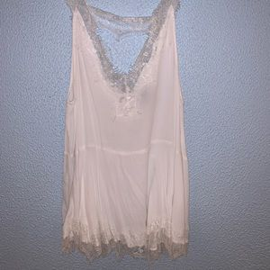 Forever 21 lace tunic tank top